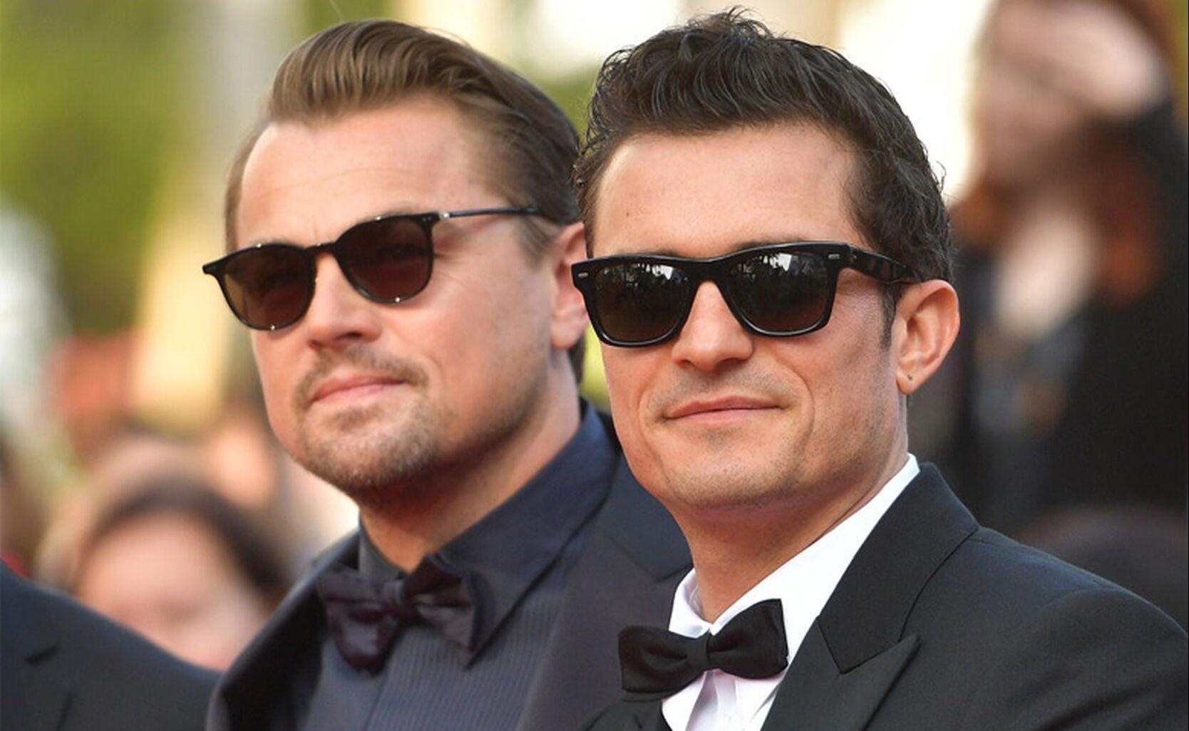 Leonardo DiCaprio and Orlando Bloom