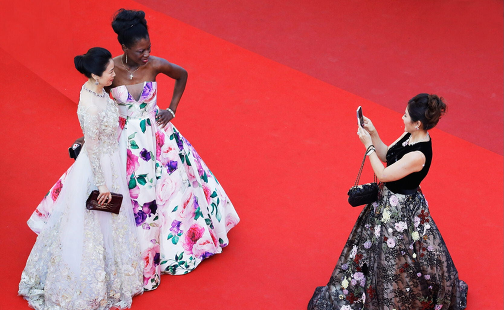 Guests at Cannes 2017