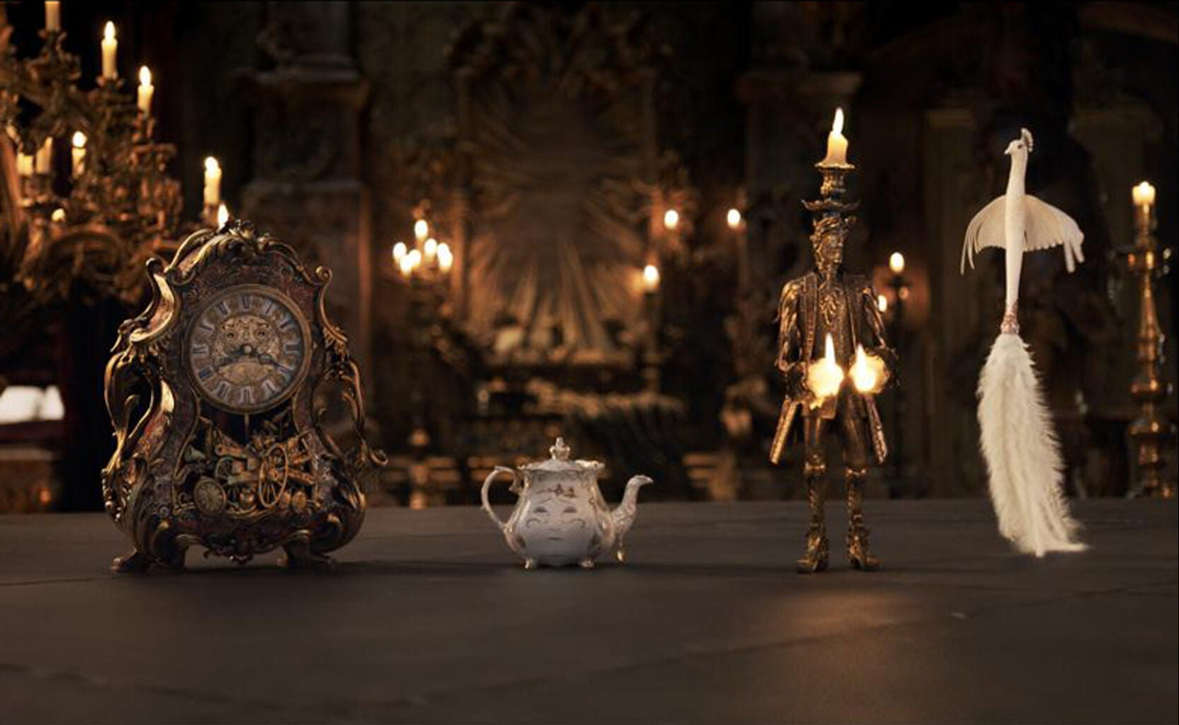 "Objects in scene from ""Beauty and the Beast"""