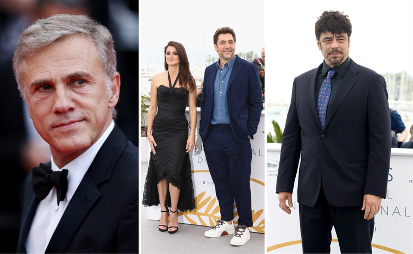 Christoph Waltz, Penelope Cruz with Javier Bardem, Benicio Del Toro