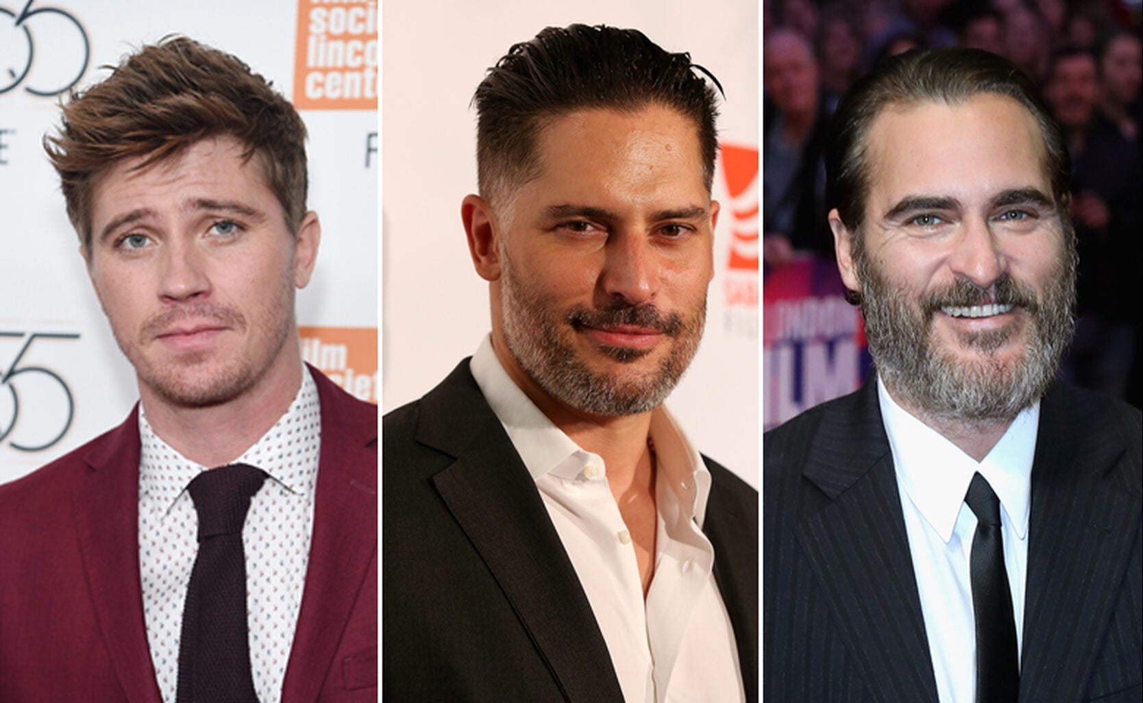 Garrett Hedlund, Joe Manganiello and Joaquin Phoenix