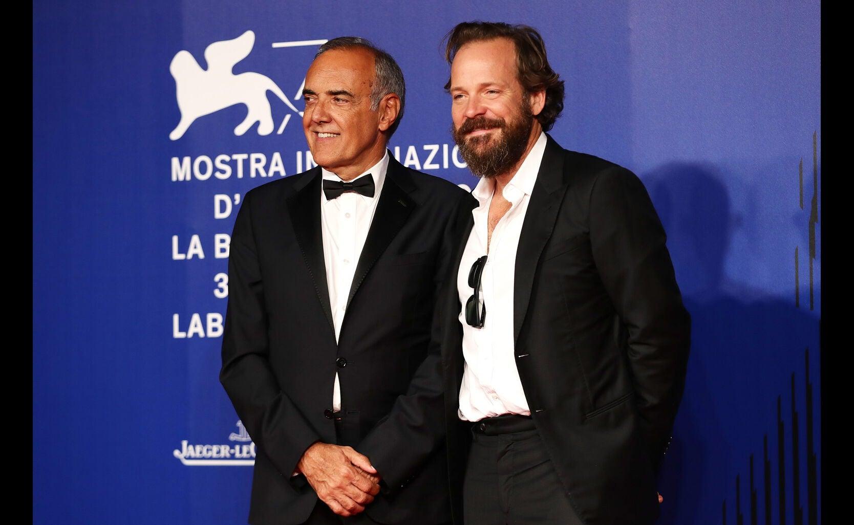 Alberto Barbera and Peter Sarsgaard