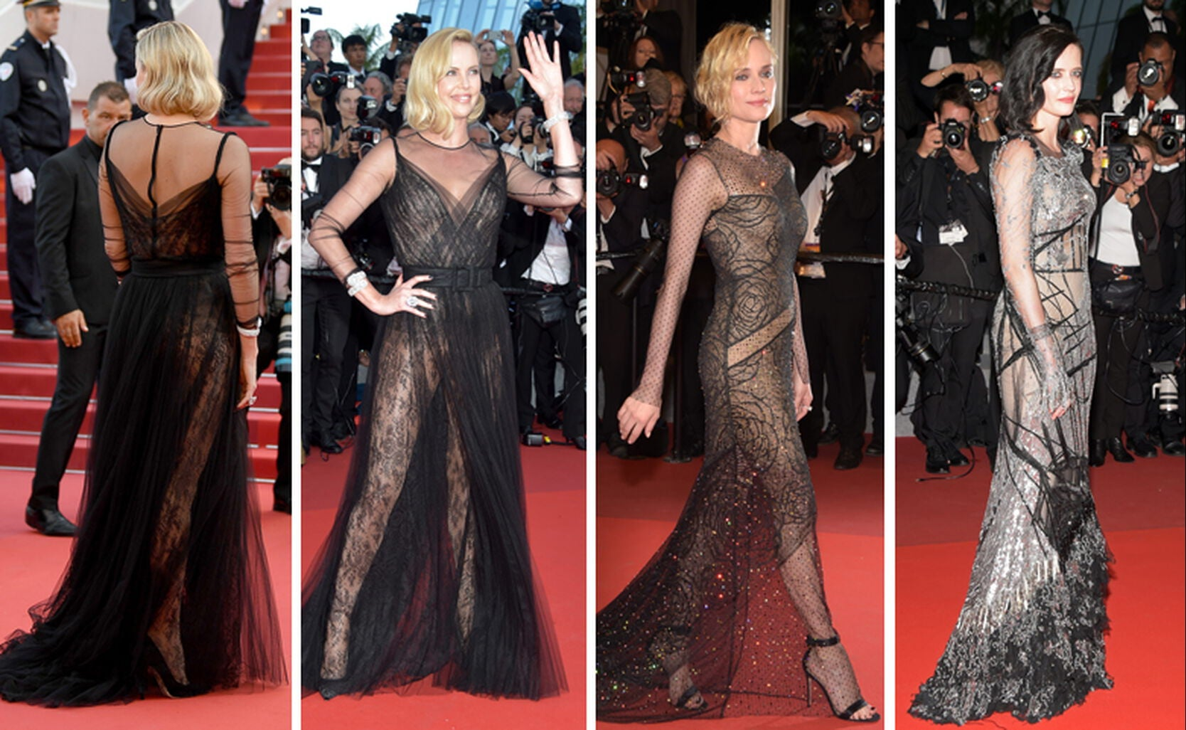 Charlize Theron, Diane Kruger and Eva Green
