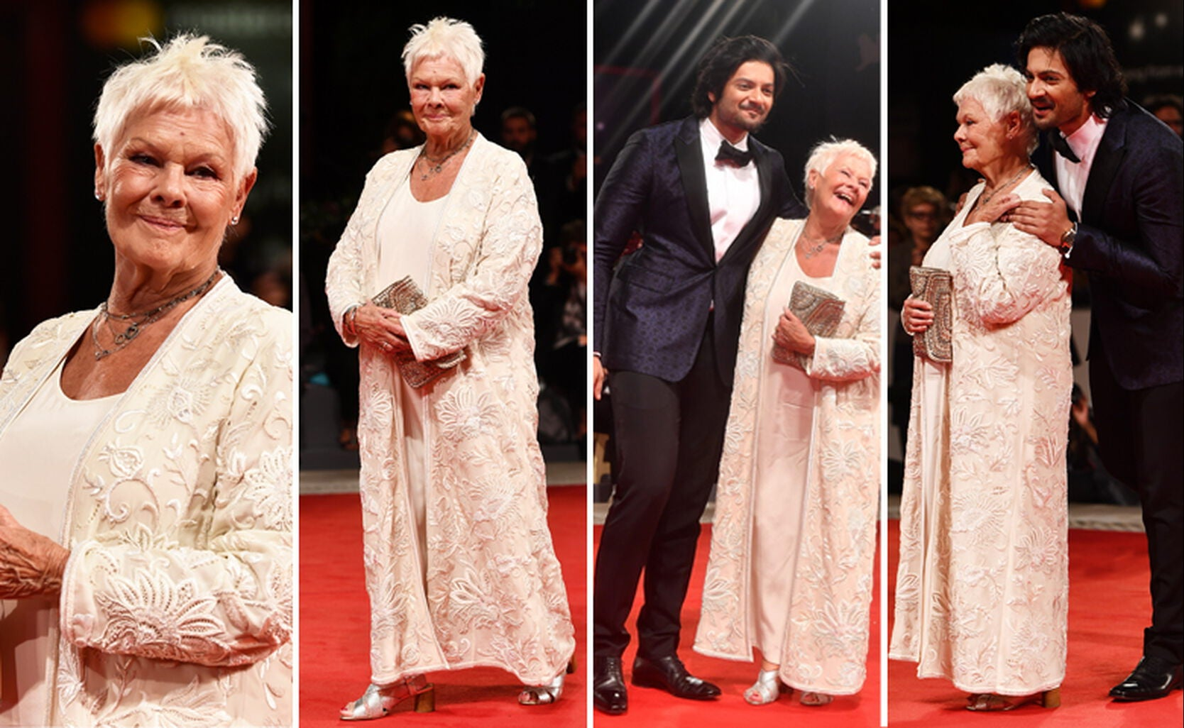Judy Dench and Ali Fazal