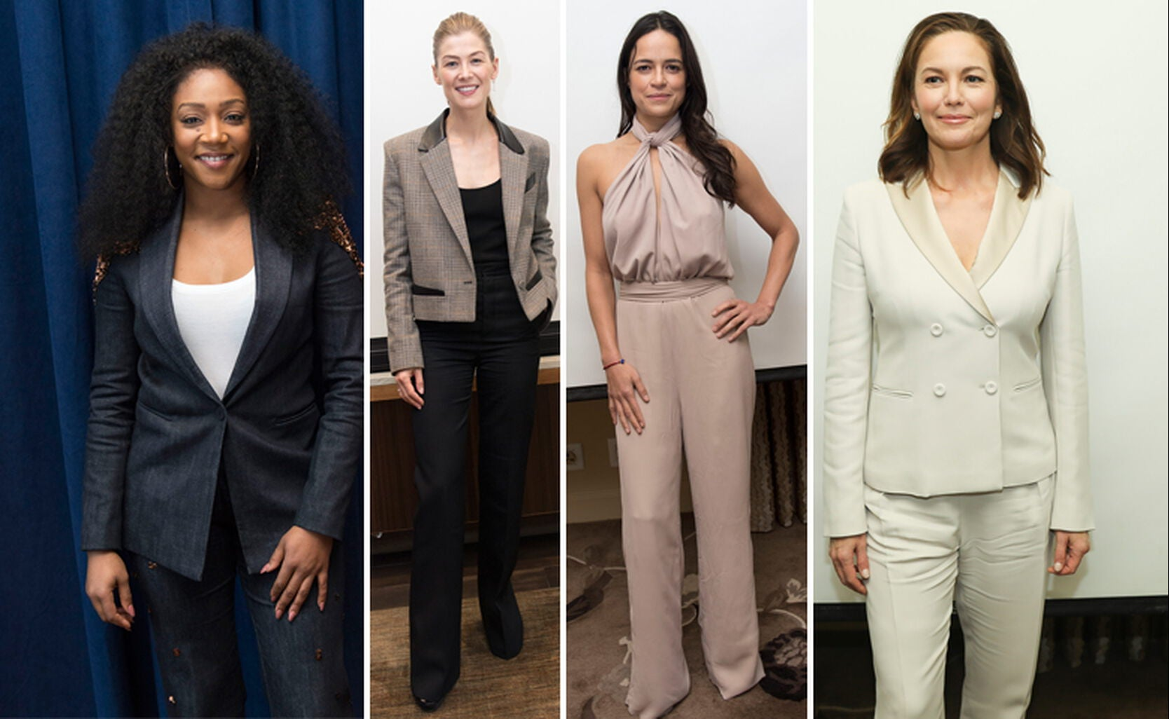 Tiffany Haddish, Rosamund Pike, Michelle Rodriguez, Diane Lane