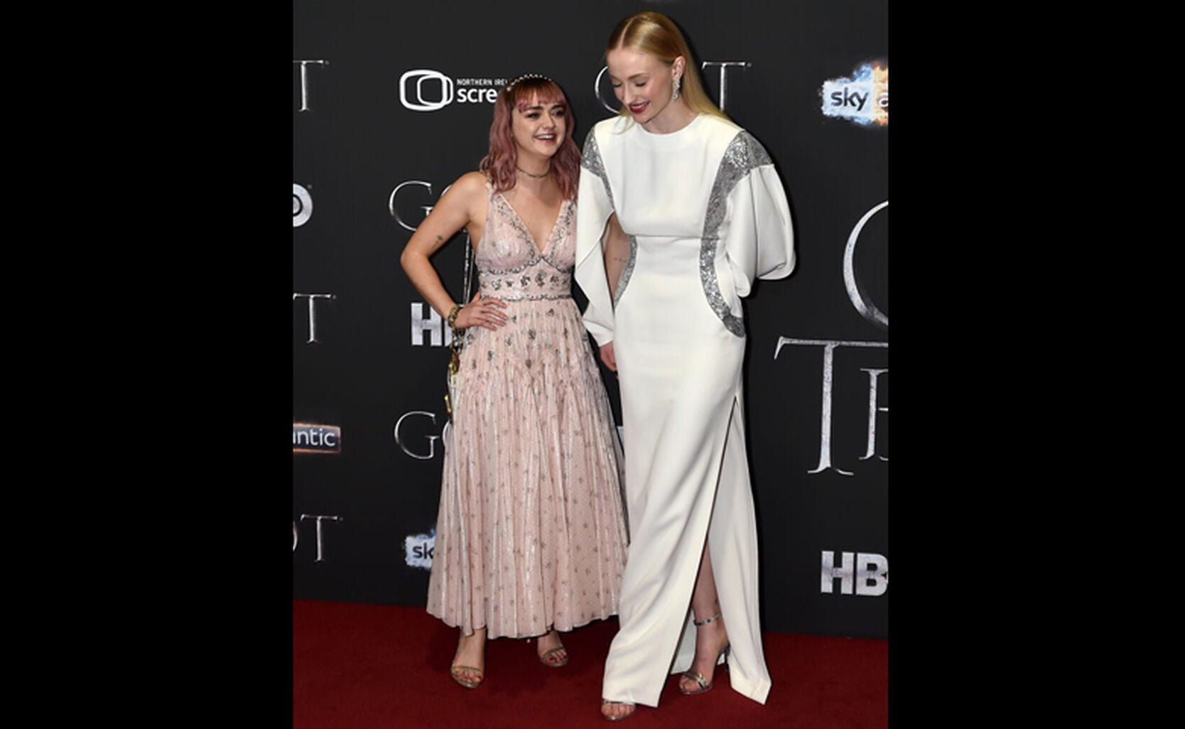 Maise Williams, Sophie Turner