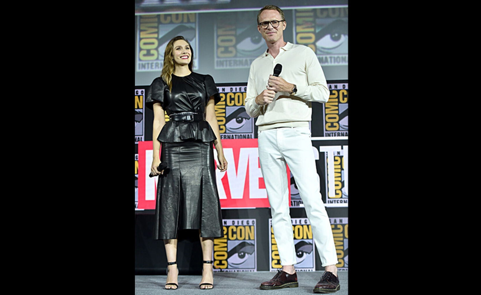 Elizabeth Olsen, Paul Bettany