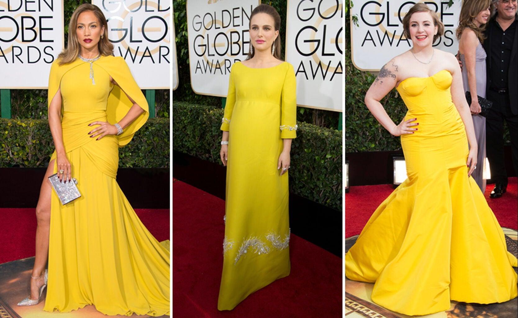 Jennifer Lopez, Natalie Portman and Lena Dunham