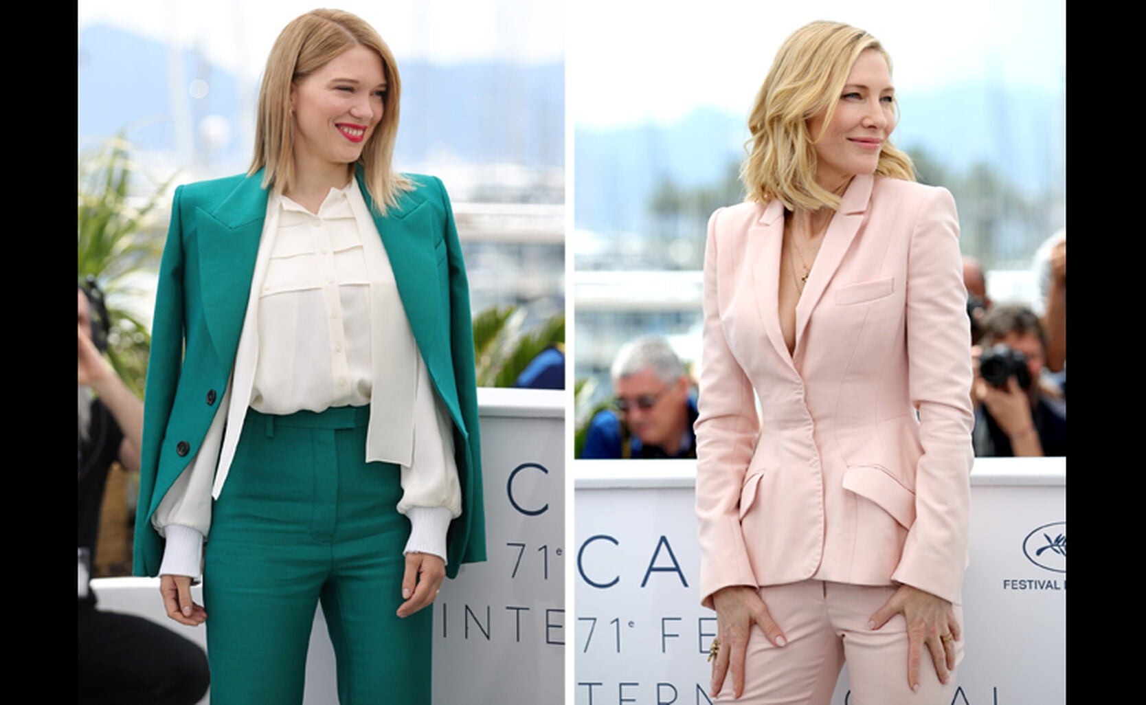Lea Seydoux and Cate Blanchett