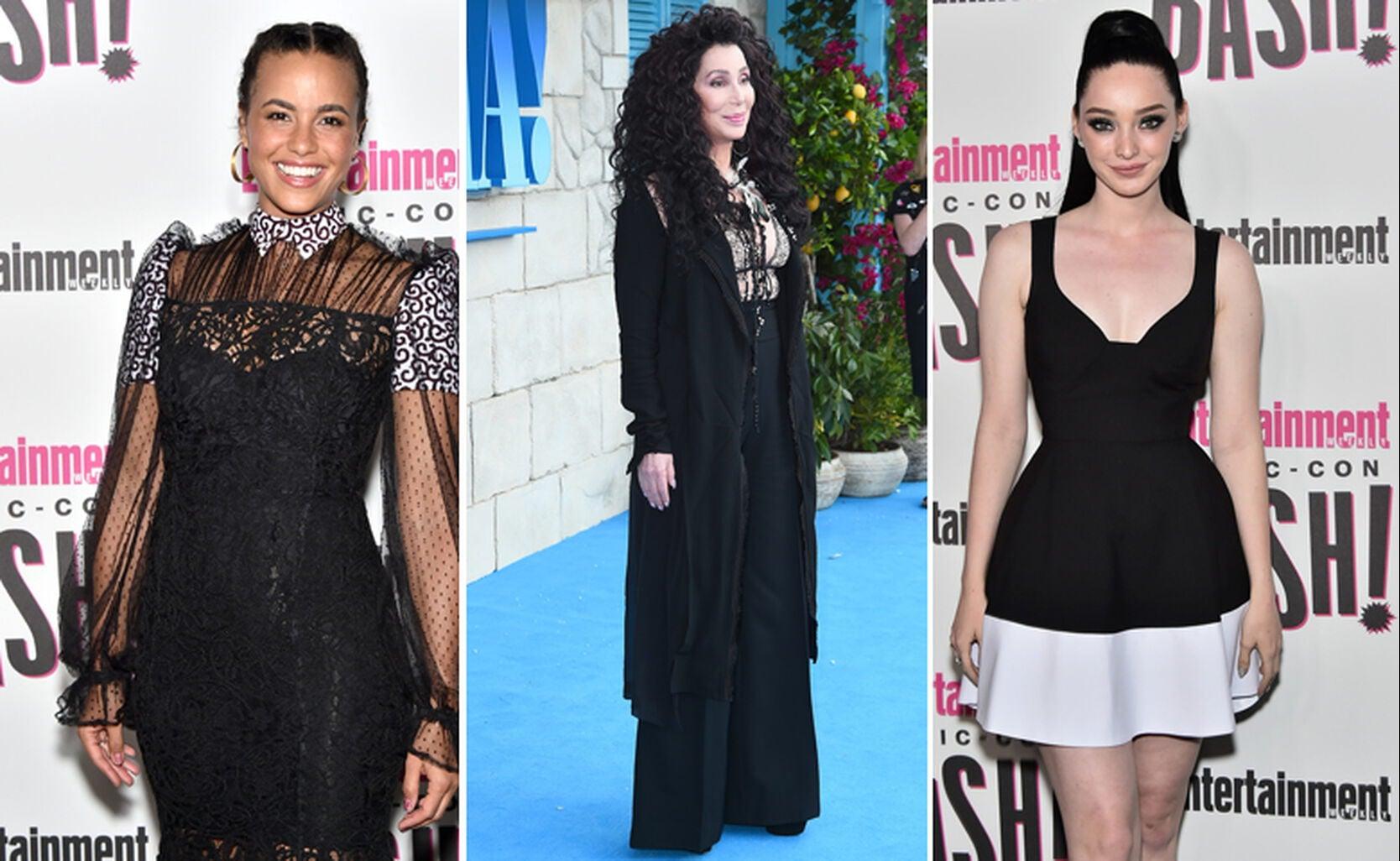 Parisa Fitz-Henley, Cher and Emma Dumont