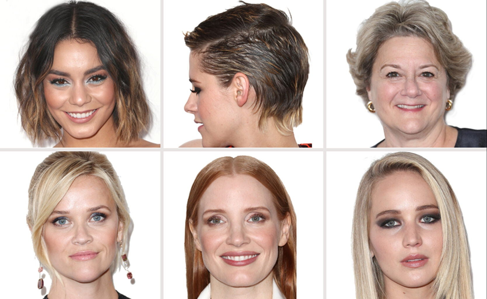 Vanessa Hudgens, Kristen Stewart, Bonnie Arnold, Reese Witherspoon, Jessica Chastain and Jennifer Lawrence
