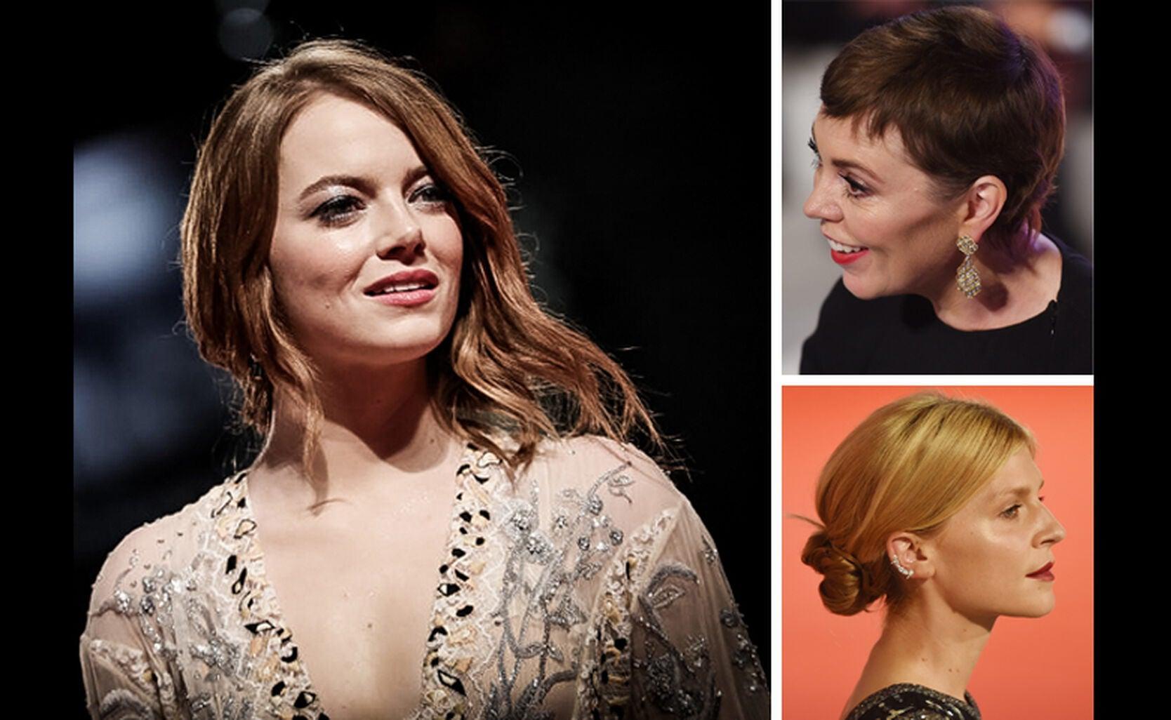 Emma Stone, Olivia Colman, Clémence Poésy