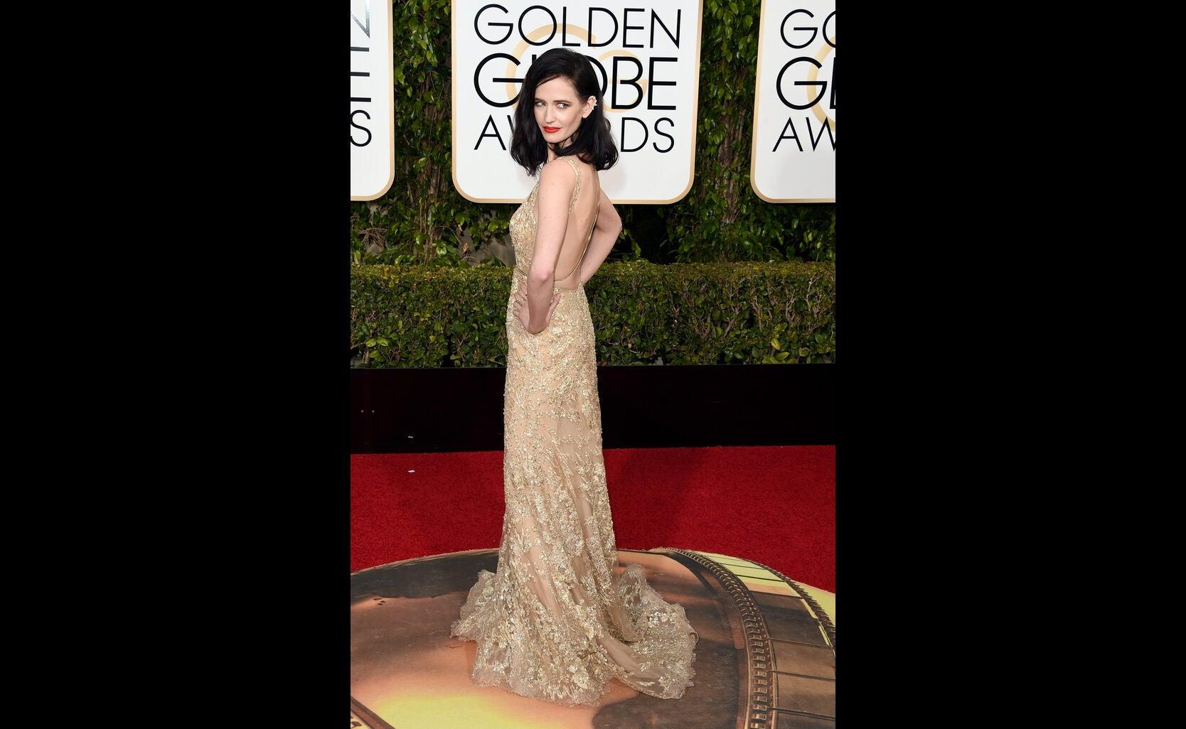 Eva Green at The Golden Globes