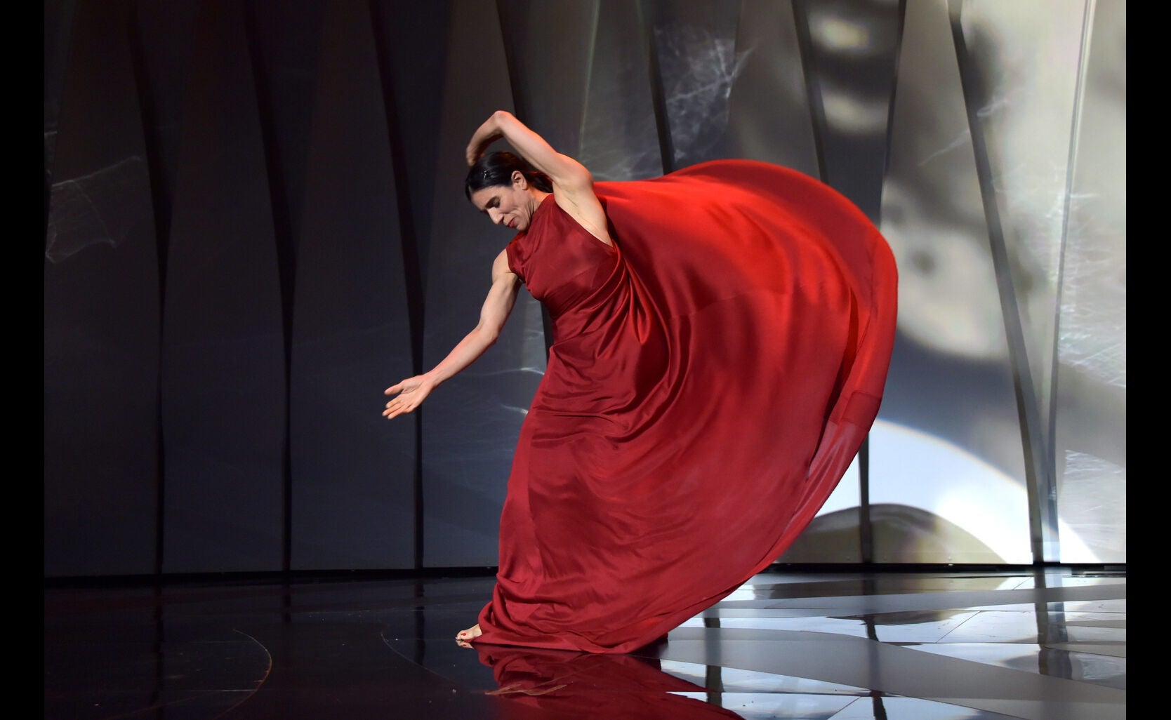 Blanca Li dances during Opening Ceremony of the 70th Cannes Film Festival