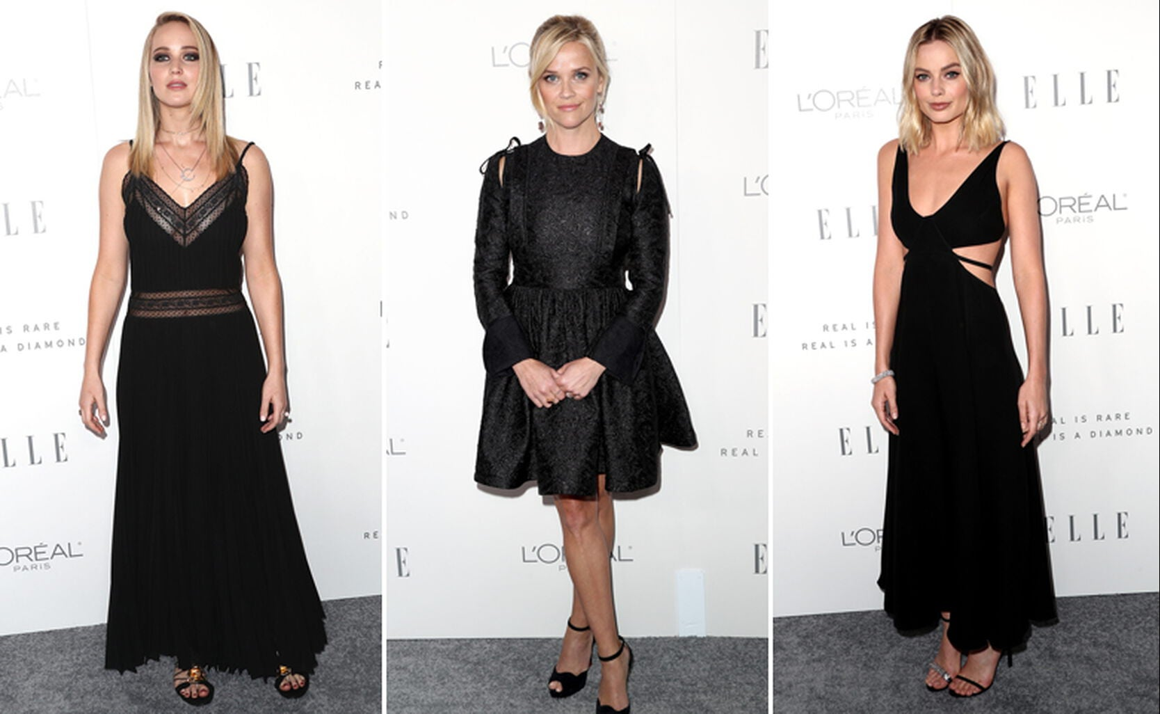 Jennifer Lawrence, Reese Witherspoon and Margot Robbie