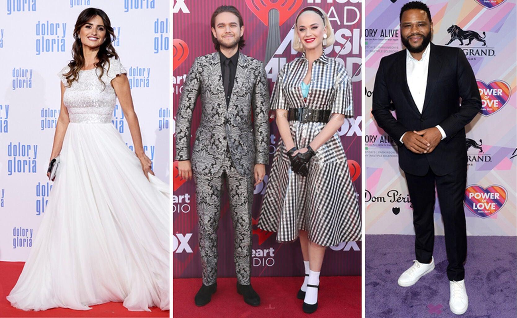 Penelope Cruz, Zedd with Katy Perry, Anthony Anderson