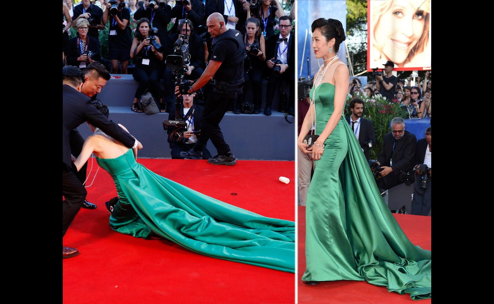 Liang Jingle at 2016 Venice Film Festival