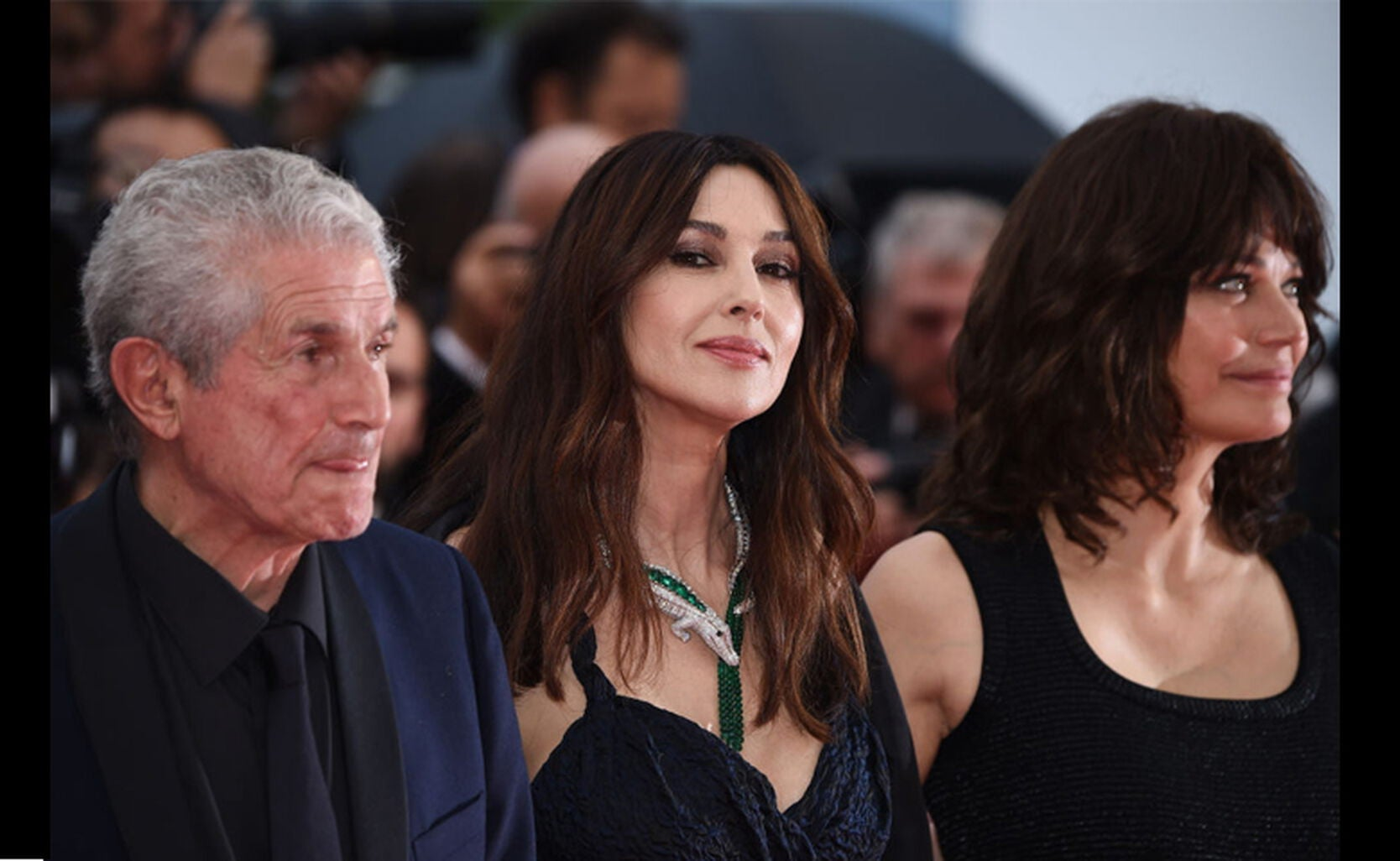 Claude Lelouch, Monica Bellucci, Marianne Denicourt