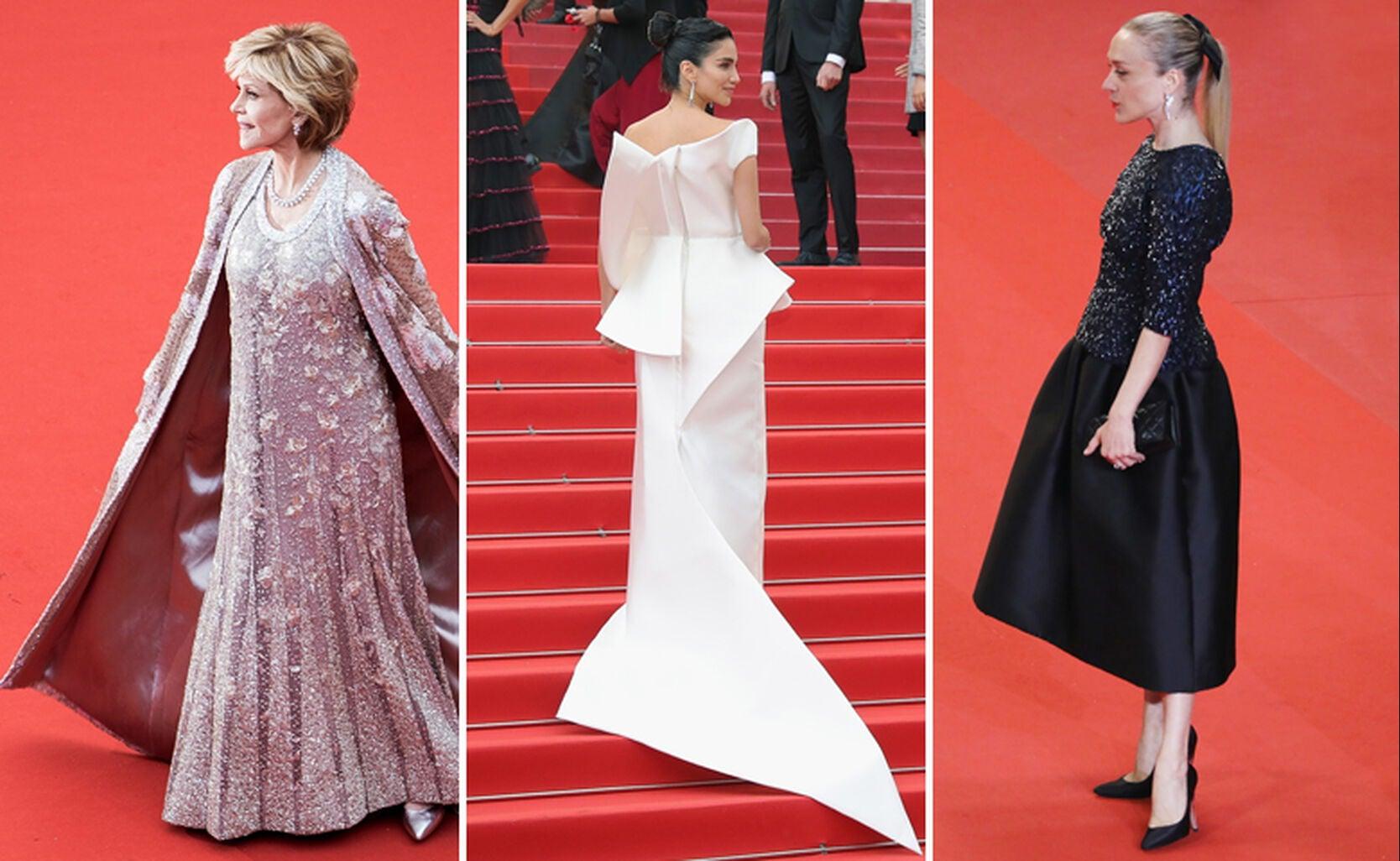 Jane Fonda, Jessica Kahawaty and Chloë Sevigny