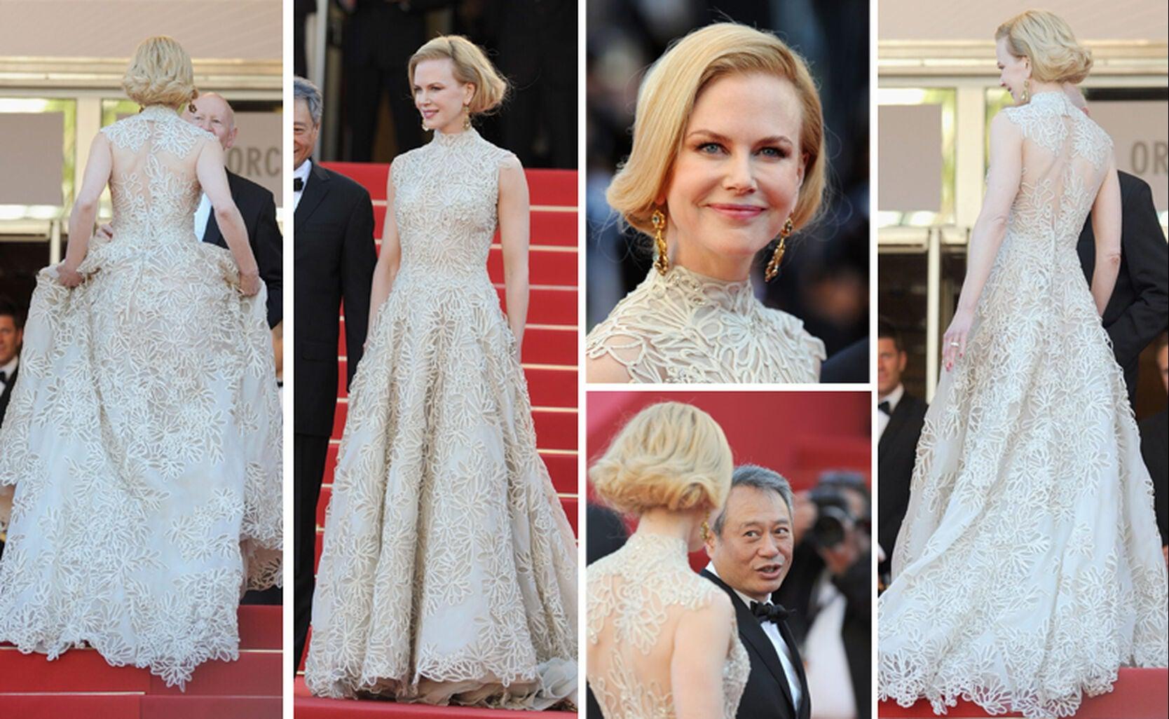 Nicole Kidman Balenciaga Wedding Dresses: Nicole Kidman & Cannes