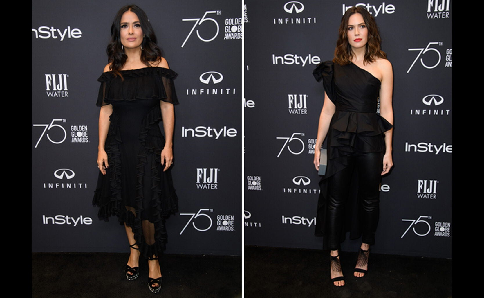 Salma Hayek and Mandy Moore