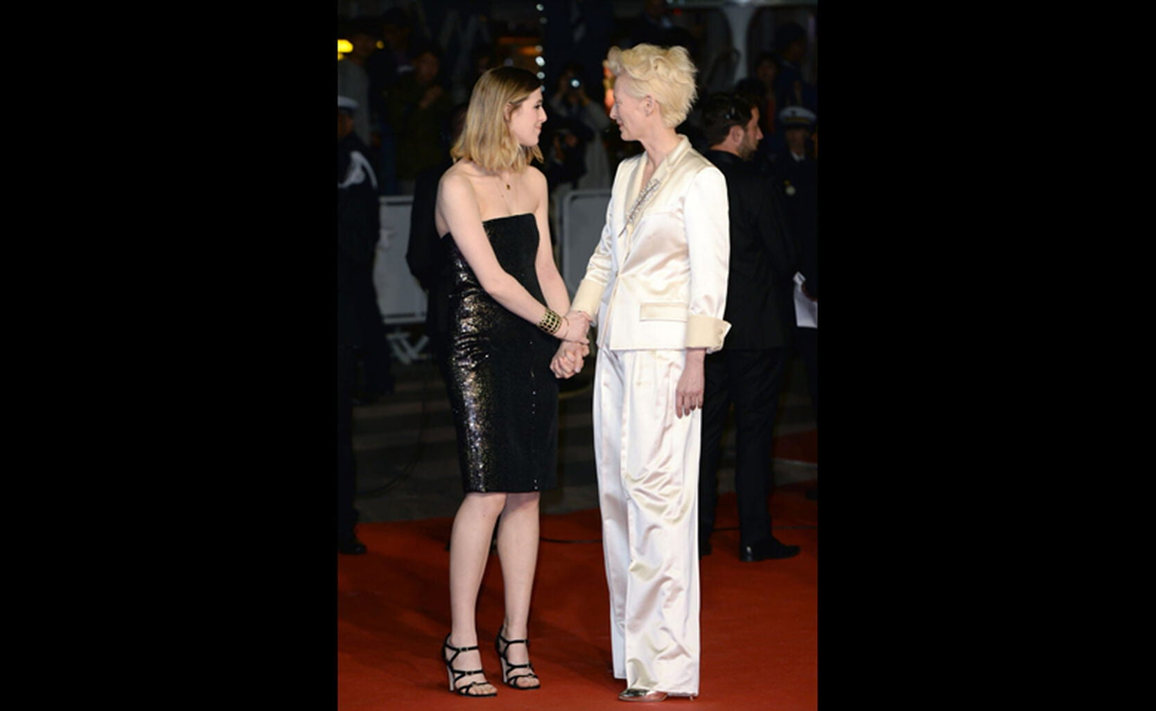 Honor Swinton Byrnean and Tilda Swinton