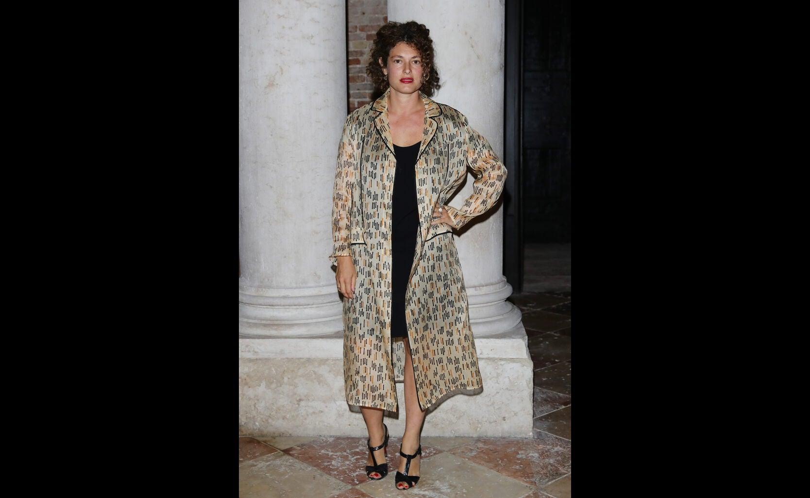 Ginevra Elkann at 2016 Venice Film Festival
