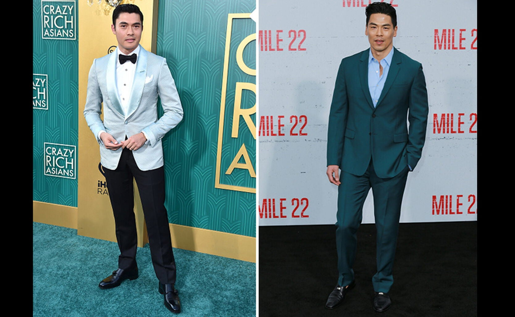 Henry Golding and Rich Ting