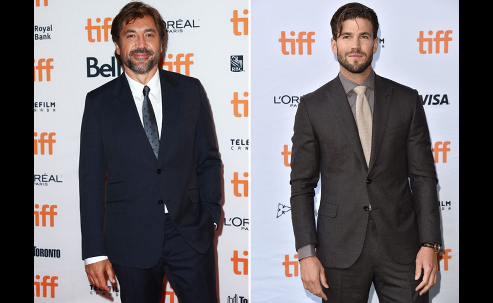 Javier Bardem and Austin Stowell