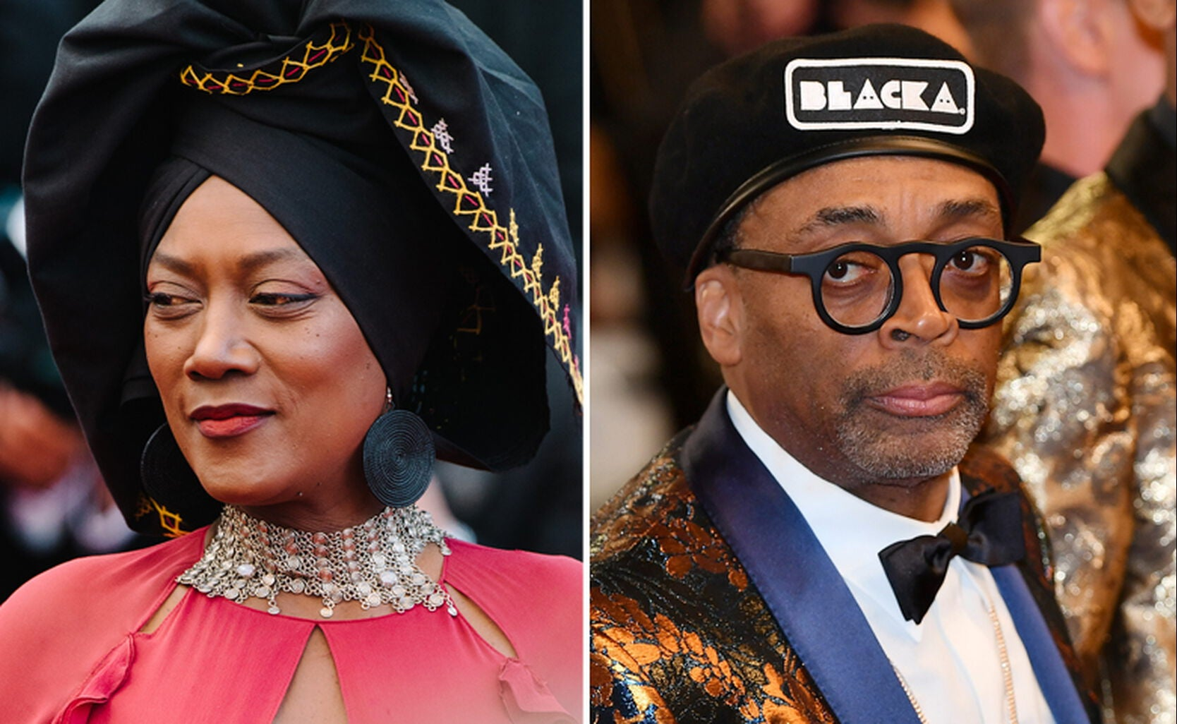 Khadja Nin and Spike Lee