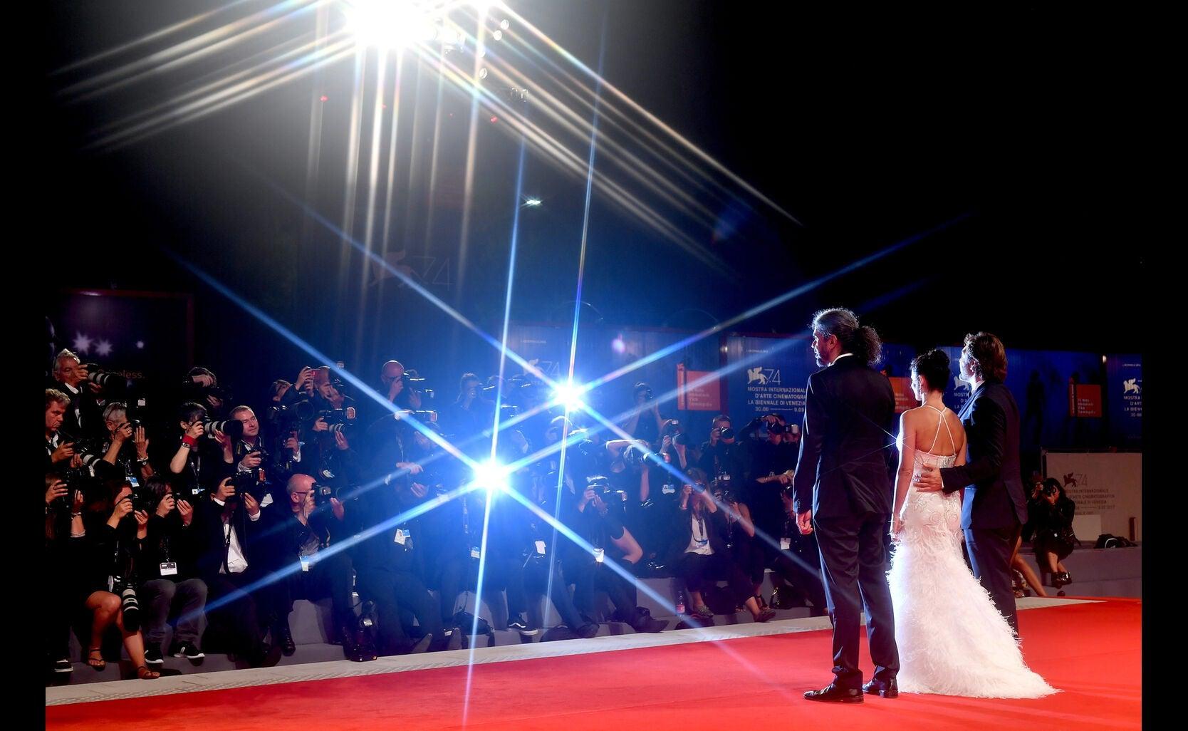 Javier Bardem, Penelope Cruz and Fernando Leon de Aranoa