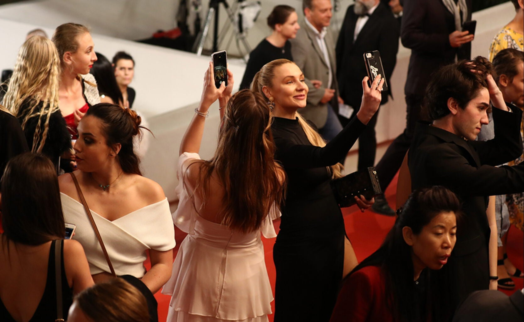 Guests at Cannes 2018