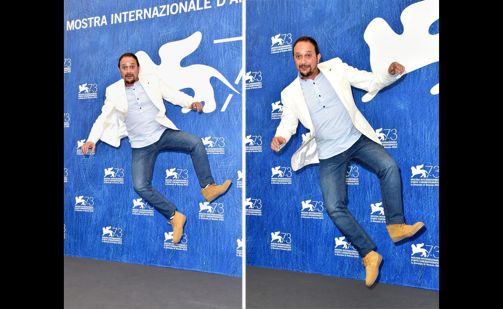 Luis Callejo at 2016 Venice Film Festival