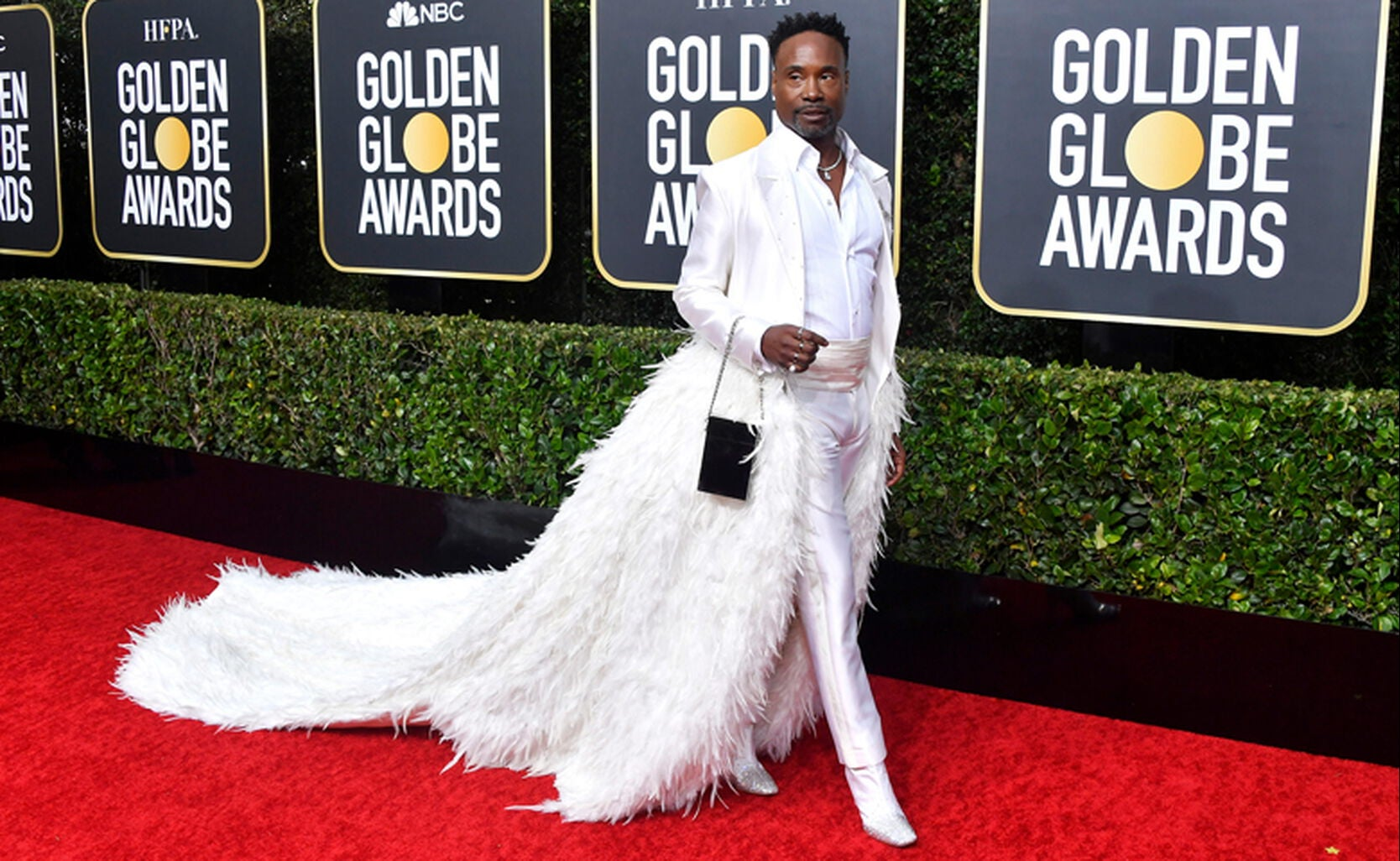 Actor Billy Porter at the Globes