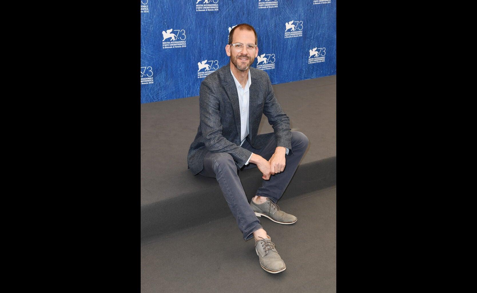 Charlie Siskel at 2016 Venice Film Festival