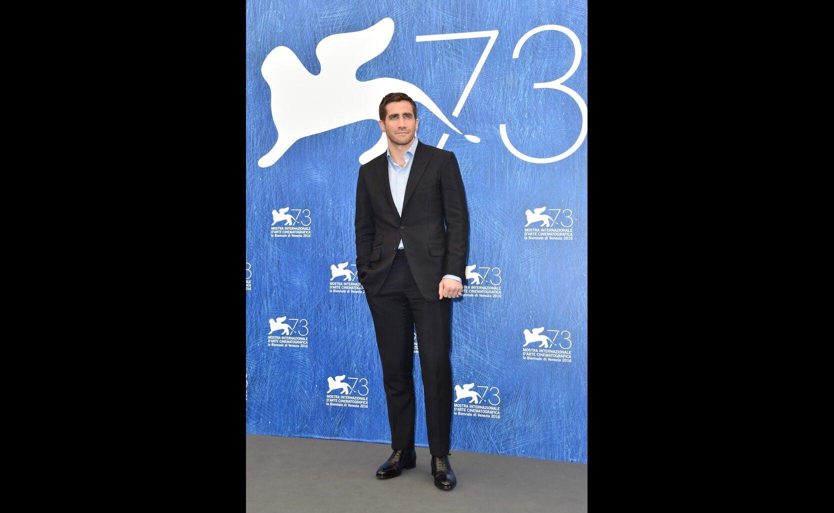 Jake Gyllenhaal at 2016 Venice Film Festival