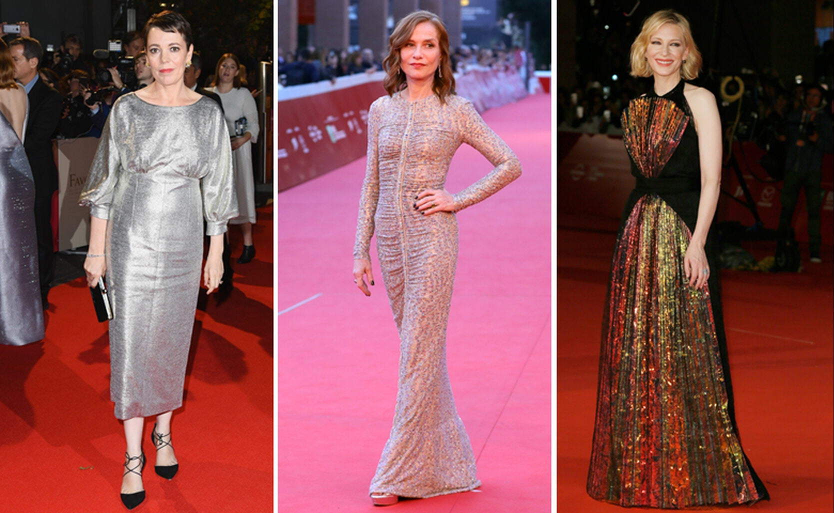 Olivia Coleman, Isabelle Huppert, Cate Blanchett