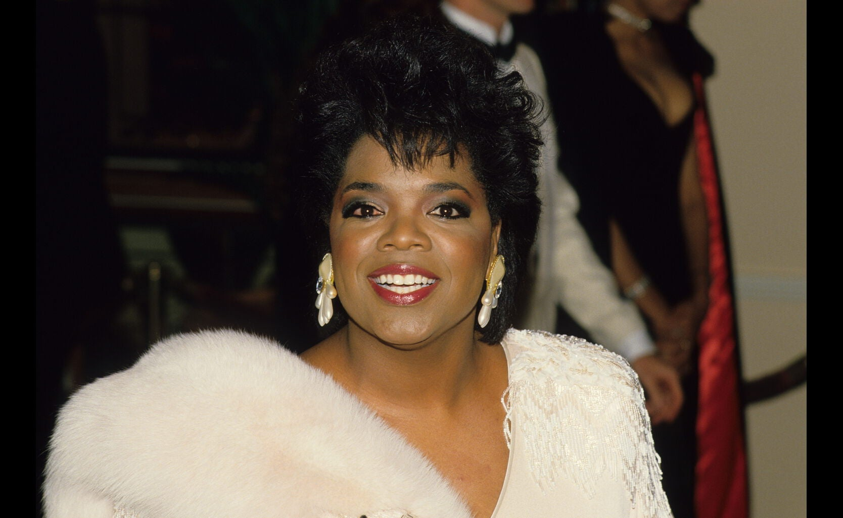 Oprah Winfrey at the 1986 Golden Globe Awards
