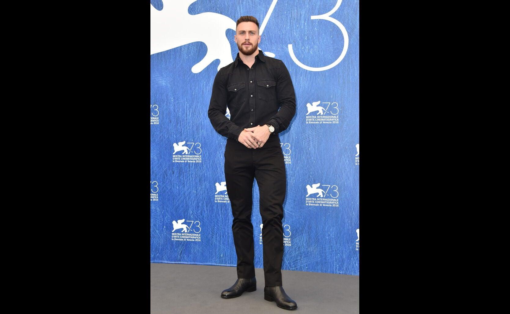 Aaron Taylor at 2016 Venice Film Festival