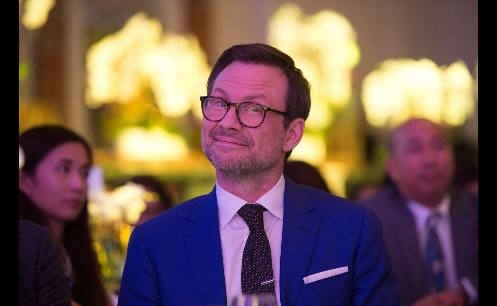 Christian Slater at the Annual Grants Banquet 2016