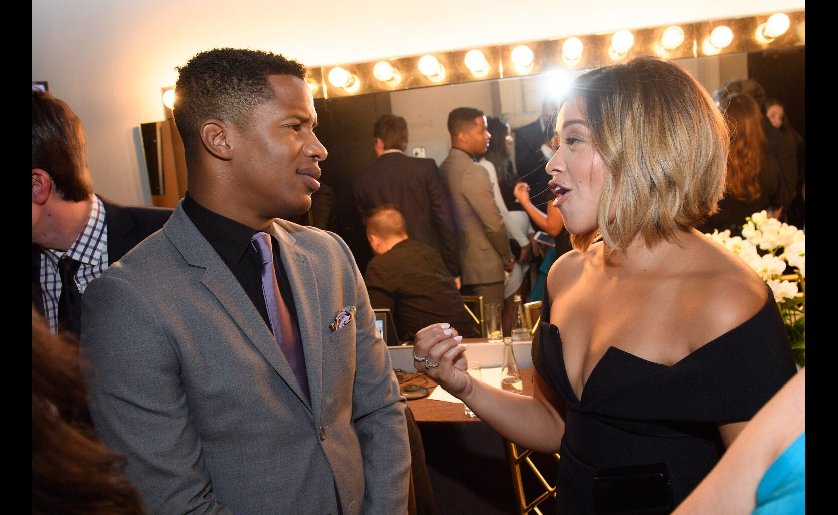 Nate Parker, Gina Rodriguez at the Annual Grants Banquet 2016