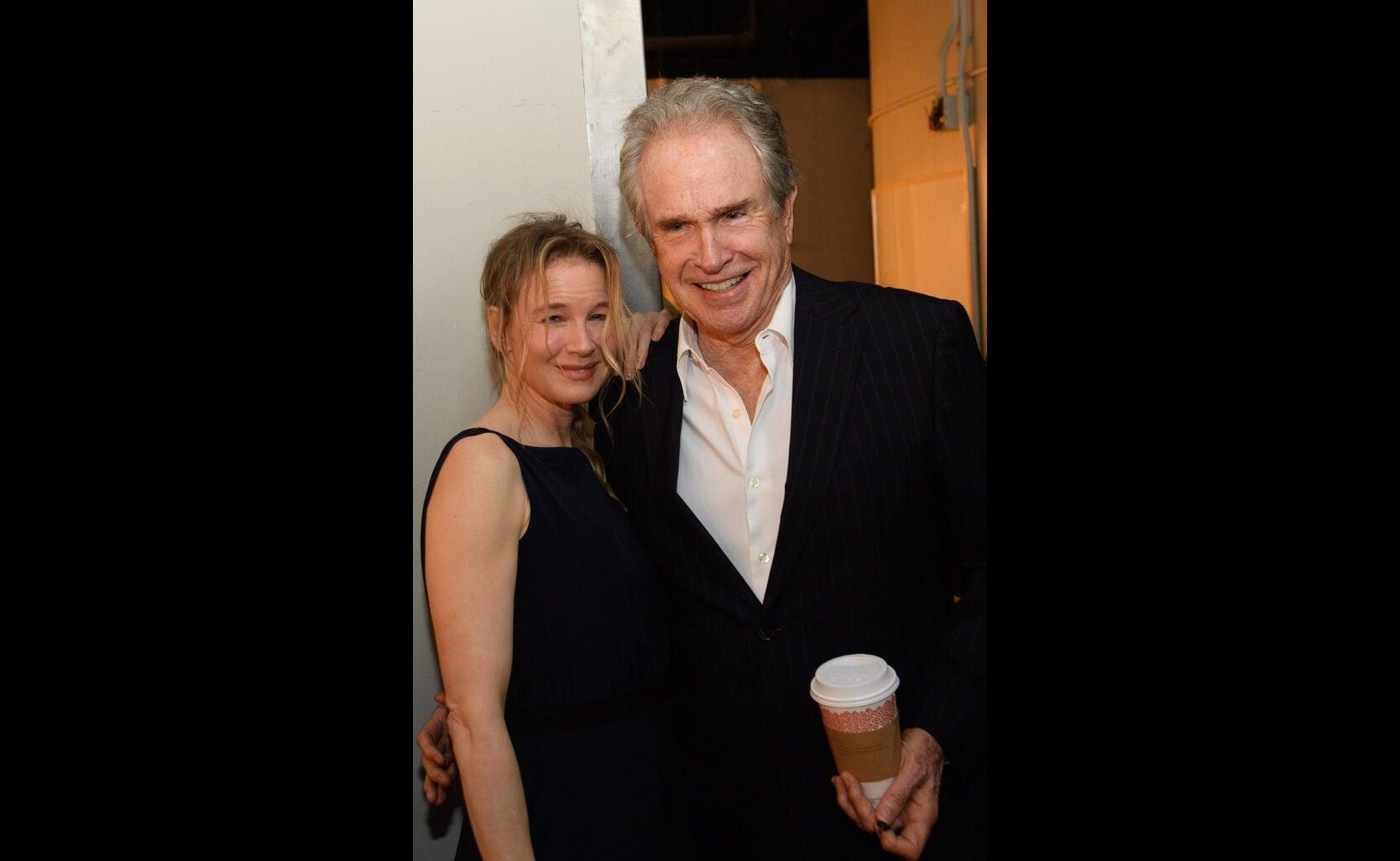 Renee Zelwegger and Warren Beatty at the Annual Grants Banquet 2016