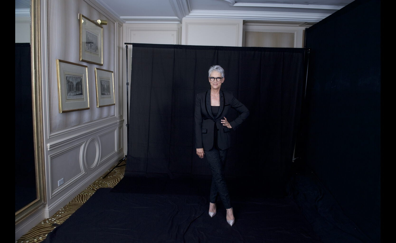 Golden Globe winner Jamie Lee Curtis at the Annual Grants Dinner 2016