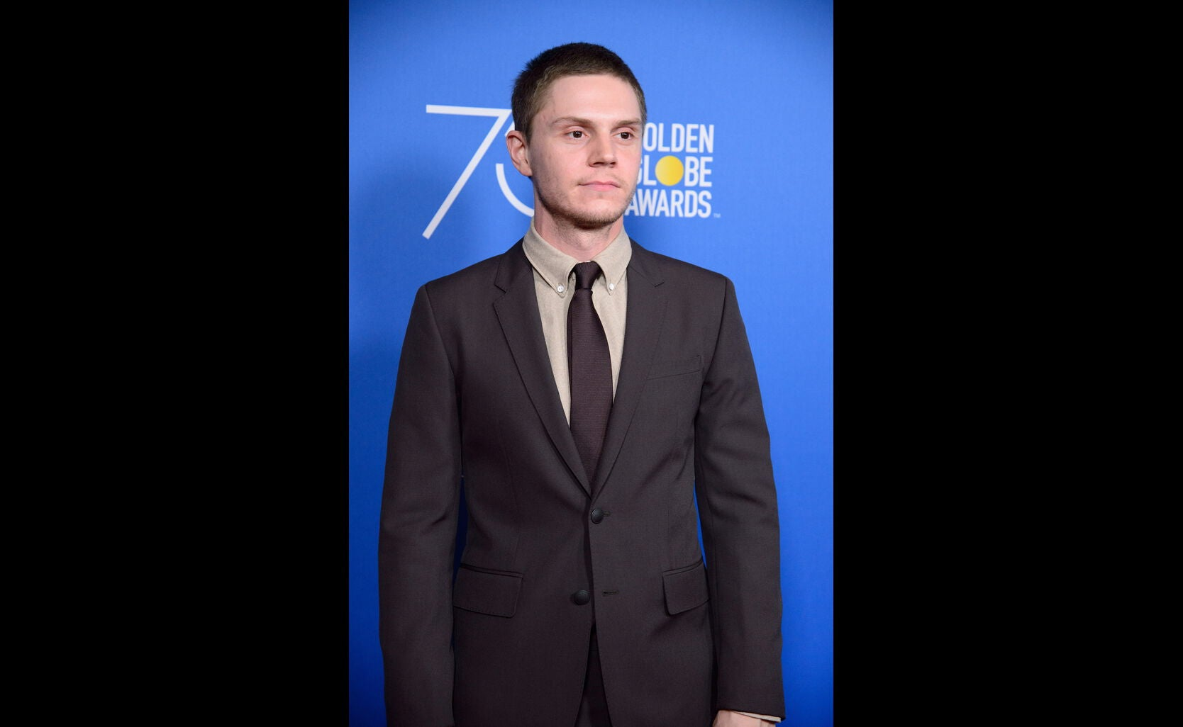 Actor Evan Peters at the Game Changers Panel, Paley Center, October 2017