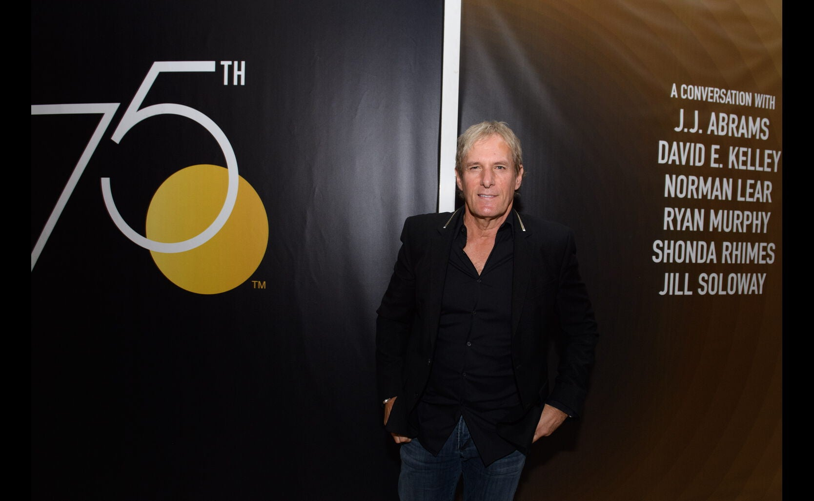 Musician Michael Bolton at the Game Changers Panel, Paley Center, October 2017