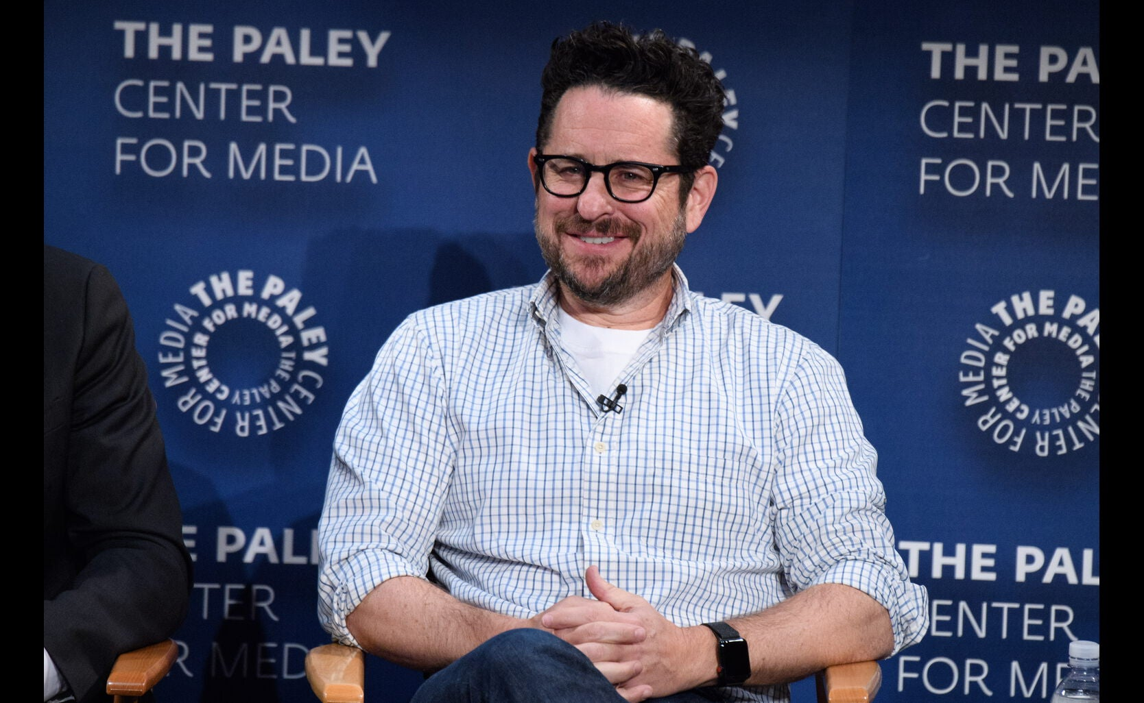 Writer-Producer J. J. Abrams at the Game Changers Panel, Paley Center, October 2017