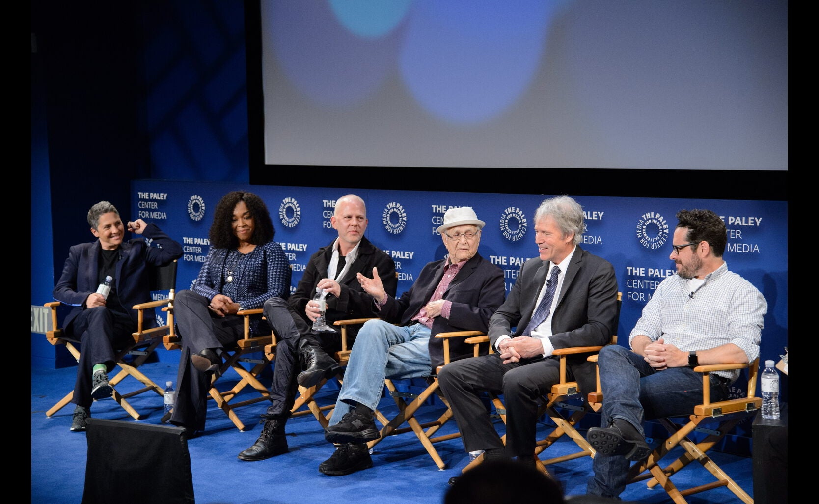 Writer-Producers Shonda Rhimes, Jill Soloway, David E. Kelley, Norman Lear, Ryan Murphy and J. J. Ab