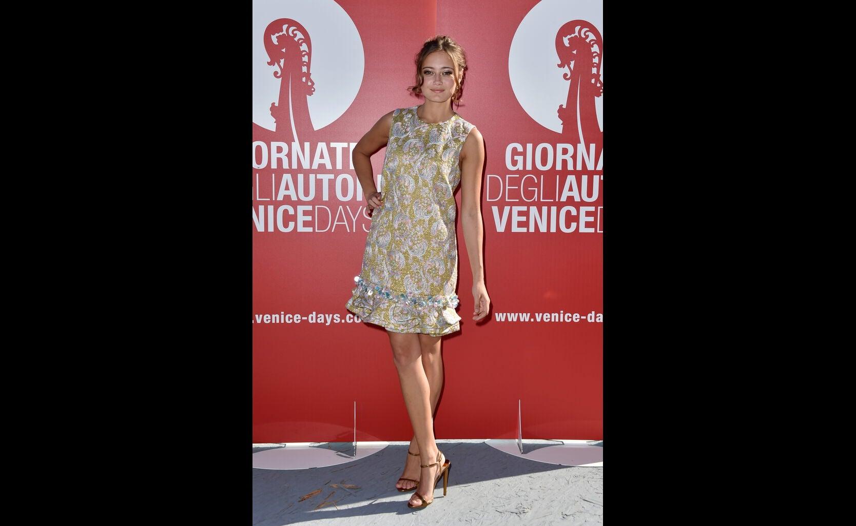 Ella Purnell at 2016 Venice Film Festival