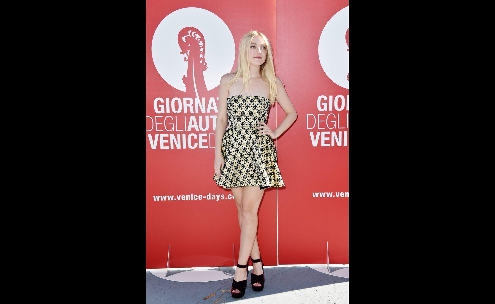 Dakota Fanning at 2016 Venice Film Festival