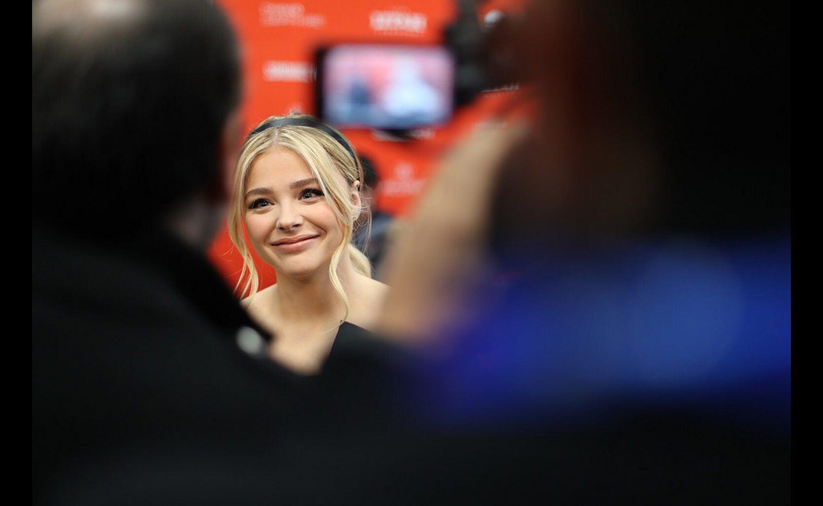 Actor Chloe Moretz in Sundance 2018